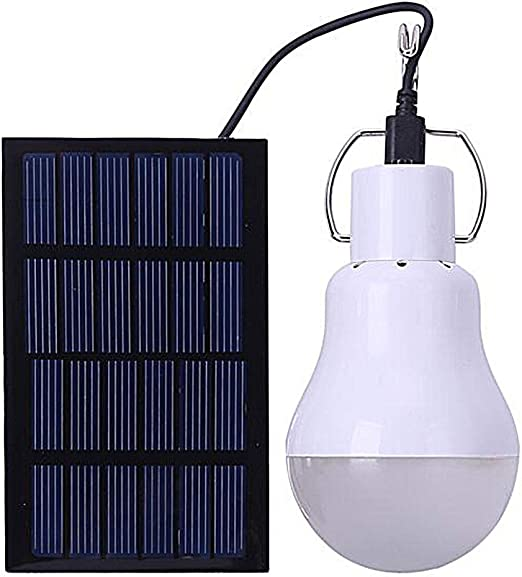 Portable Camping Light Bulb, Solar Powered Shed Led Light