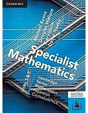 CSM VCE Specialist Mathematics Units 1 and 2