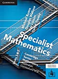 Cover of CSM VCE Specialist Mathematics Units 1 and 2
