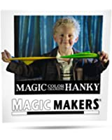 Magic Makers Color Changing Hanky Magic Trick by Easy Magic Sure to Amaze