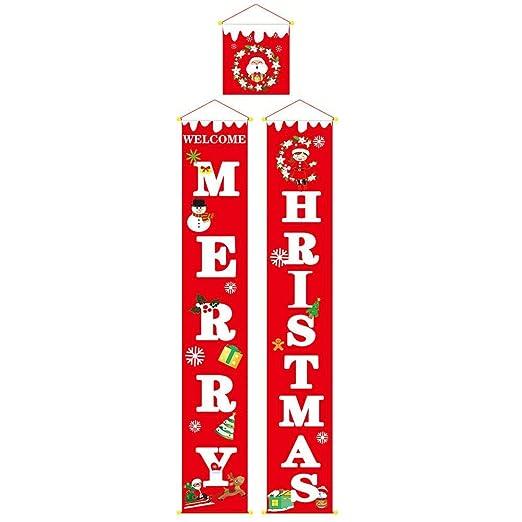 Roebii Banner De Feliz Navidad, Nuevas Decoraciones ...