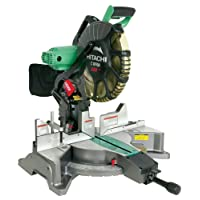 Deals on Hitachi C12FDH 12-in Dual Bevel Laser Compound Miter Saw Refurb