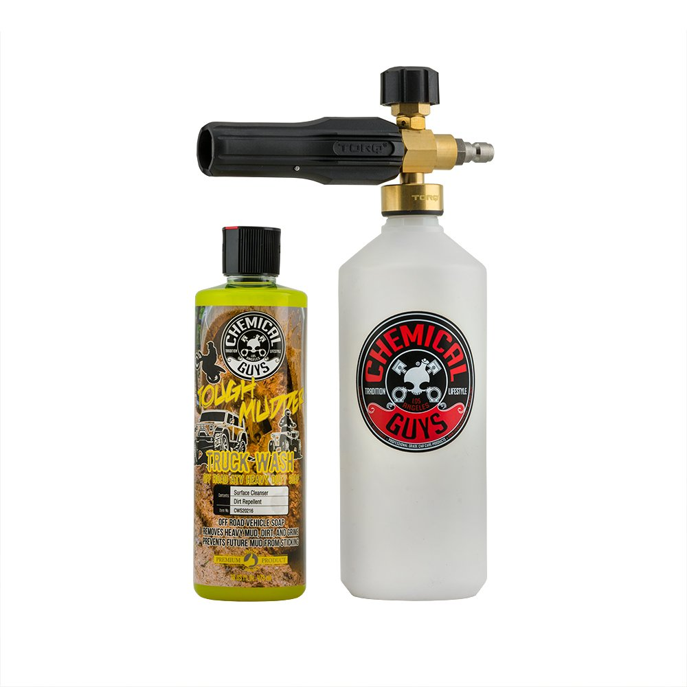 Chemical Guys EQP335 TORQ Foam Cannon Snow Foamer & Tough Mudder Truck Wash, 16. Fluid_Ounces by Chemical Guys (Image #1)