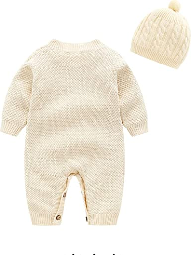 Mornyray Infant Baby Cute Animal Style Jumpsuit One-Piece Romper SleepPlay Wear
