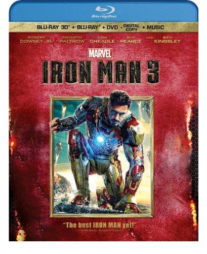 Iron Man 3 (Three-Disc Blu-ray 3D / Blu-ray / DVD + Digital Copy)