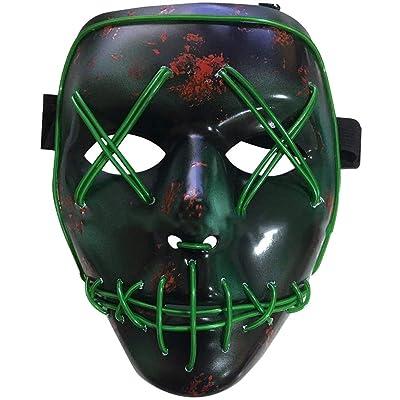 BESTZY Halloween Máscaras, Mascaras de Halloween,Craneo Esqueleto Mascaras,para la Navidad Halloween Cosplay Grimace Festival Party Show,Horror Máscara Halloween Fancy Halloween Costume: Juguetes y juegos