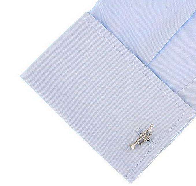 fablcrew elegante altavoz de gemelos de hombre camiseta mangas botones Gemelos para vestido de negocio boda 7jEuq0U