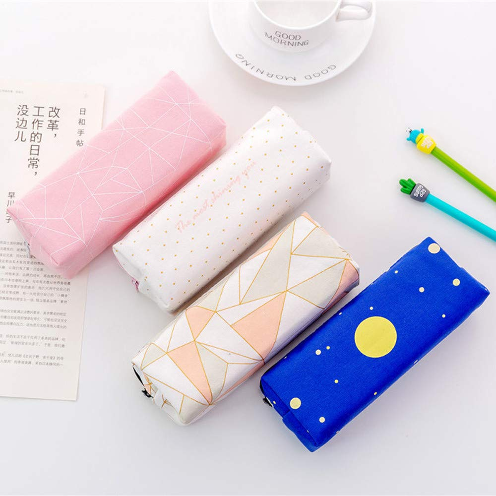 Amazon.com : XGao Pencil Case Pen Bag Cute Stary Cases Box ...