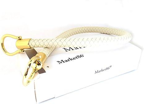 40cm//60cm Goldtone Buckles Synthetic Leather PU Shoulder Strap Replacement Handbag Purse Handle Length:60cm//23.6, Black