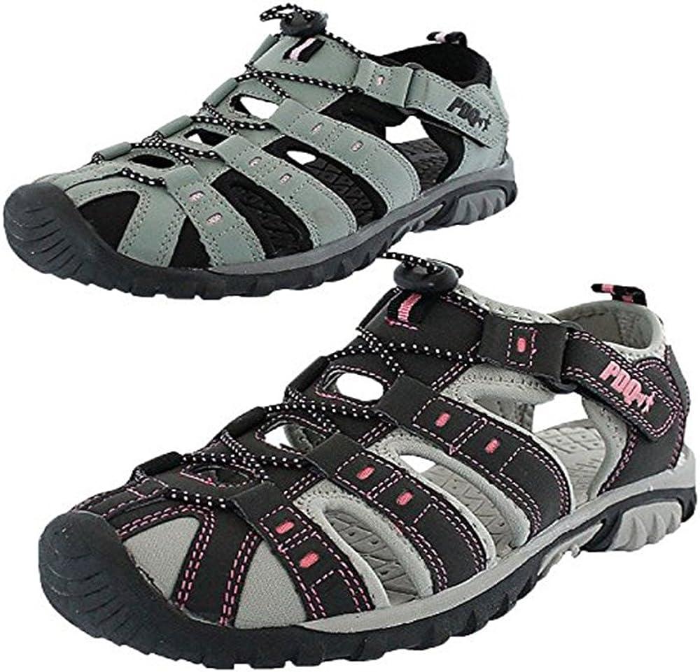 PDQ - Sandalias para mujer y niña para caminar, para verano, senderismo, playa, deportes
