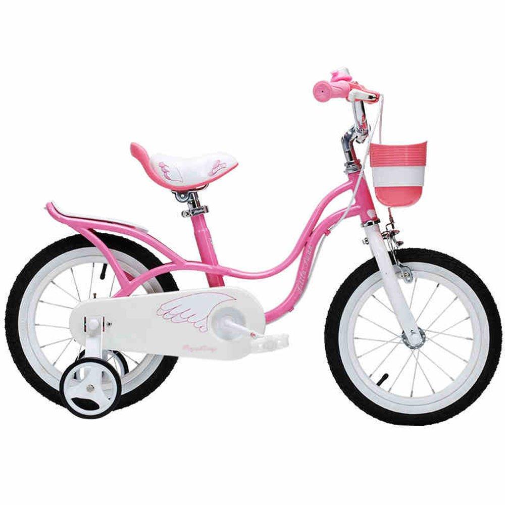 マチョン 自転車 子供の自転車12-18インチのベビー自転車2-3-6-8歳の女の子のビック B07DS7JXGY18\