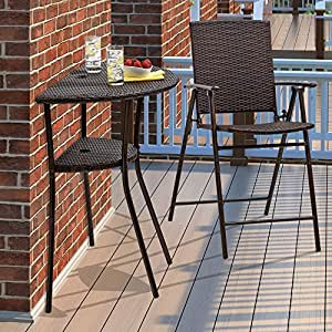 Amazon Com 2 Tier Half Moon Bar Table Only From