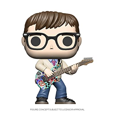 Funko Pop! Rocks: Weezer - Rivers Cuomo: Toys & Games