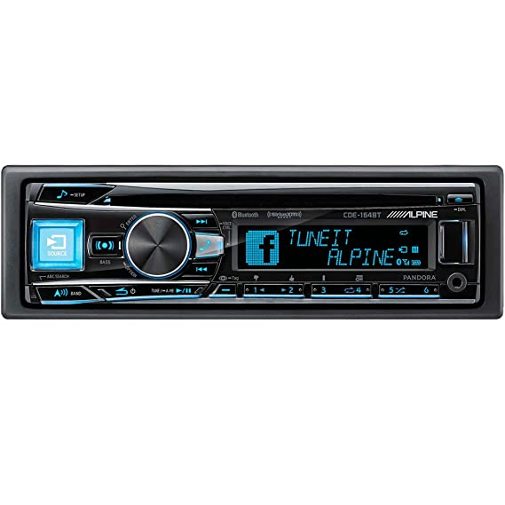 amazon com alpine cde 164bt alpine in dash 1 din cd mp3 receiver rh amazon com 2013 Alpine Head Units Alpine Audio