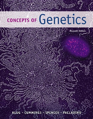 Concepts Of Genetics Text