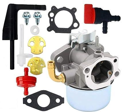 Carburetor For Briggs Stratton Craftsman Tiller Intek 190 6 HP 206 Engine