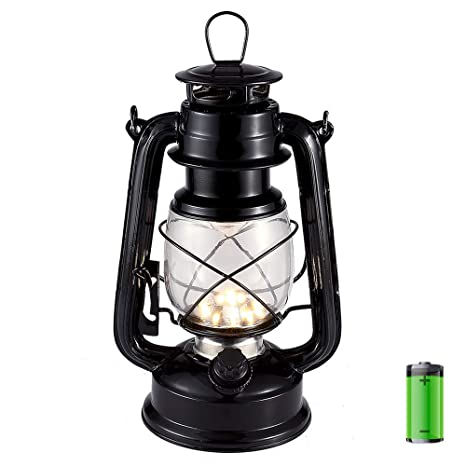 vintage style led hurricane lantern warm white electric kerosene