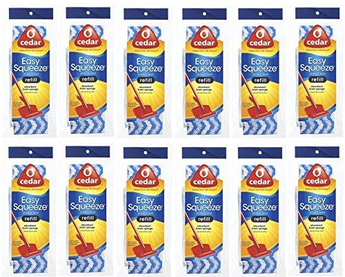 O Cedar Extra Squeeze Sponge Mop Rfl, Pack of 12 by O Cedar by O-Cedar (Image #2)