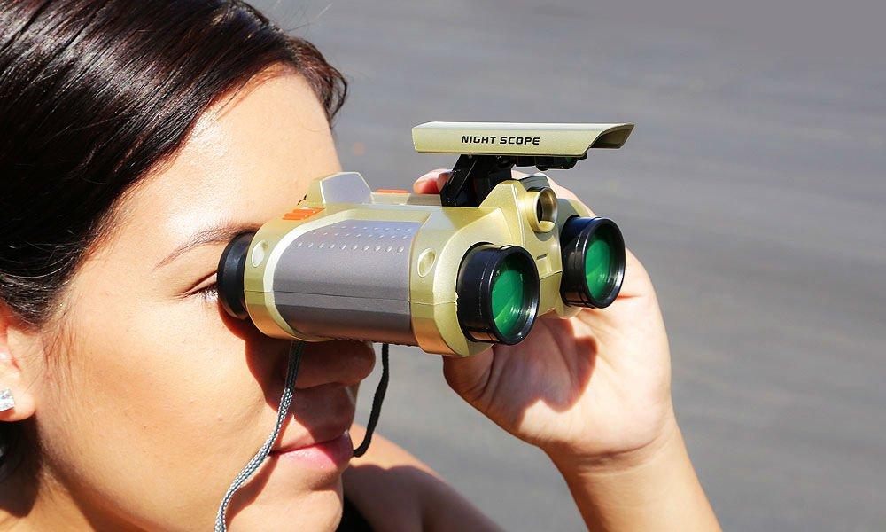ナイトビジョン監視スコープ双眼鏡望遠鏡ポップアップライトクリスマスギフト子供用 B074JCKLBC
