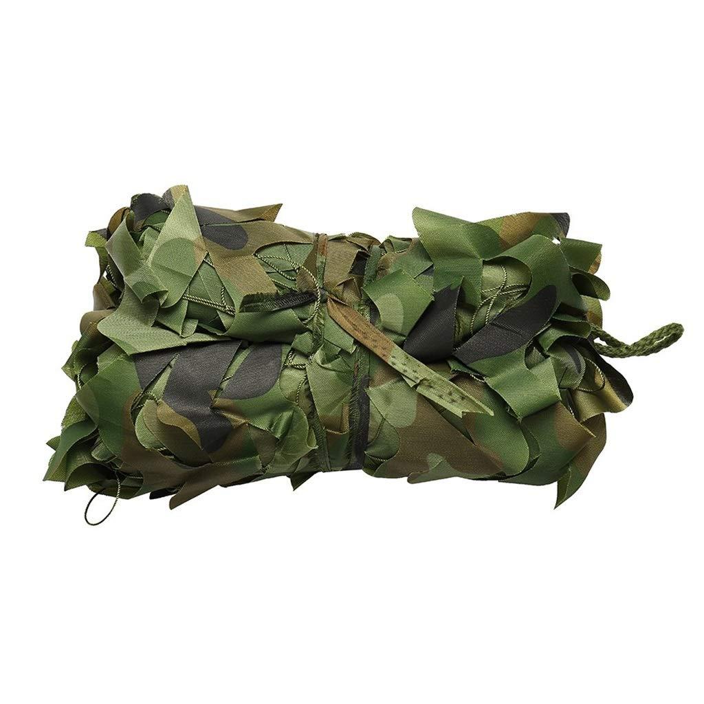 迷彩柄 ウッドランドミリタリーメッシュ 迷彩ネット サンシェードネット 軍事 耐紫外線ネット 迷彩カバー キャンプ射撃狩猟、軍をテーマにしたパーティーの装飾 B07SS1PJZ2  6X10M