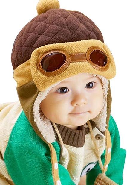 Baby Kids Boys/&Girls Pilot Aviator Hat Winter Ear Cap Beanie Winter Autumn Hot