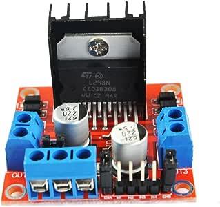 DIYmall L298N Driver Module Dual H Bridge Stepper Motor Driver Board for Arduino Smart Car