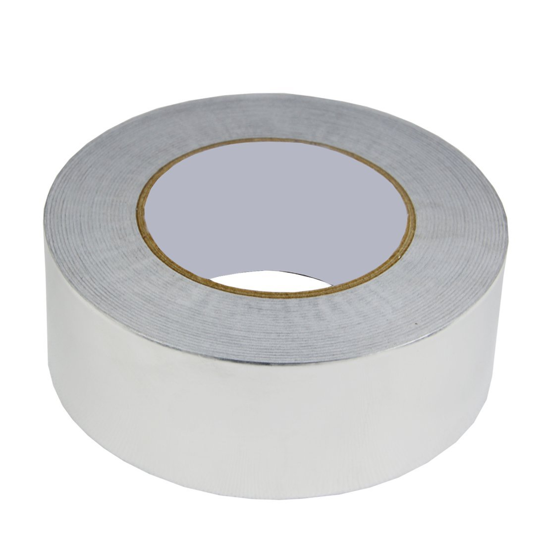 Hxtape 4 Mil (2 inch-55yds) Aluminum Foil Tape,Silver,Good for HVAC, Sealing & Patching Hot & Cold Air Ducts, Metal Repair by Hxtape (Image #2)