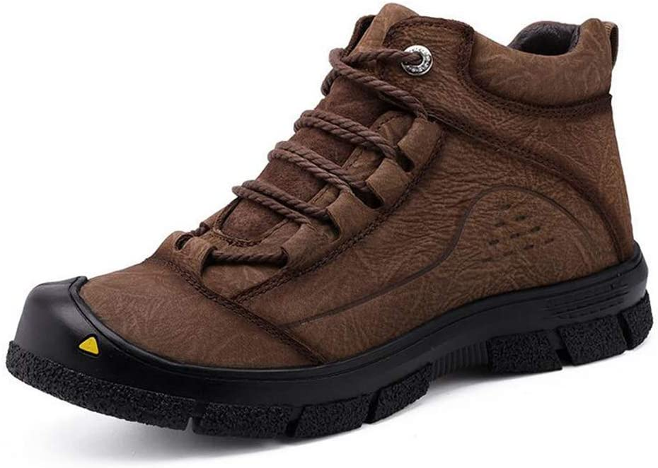 Hy Mens Hiking Shoes Fall Winter Outdoor Trekking Climbing Sneakers Low-top Non Slip Outdoor Sneaker Walking Shoes Color : D, Size : 42