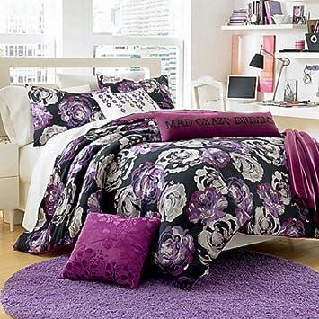 steve floraltwin xl comforter set