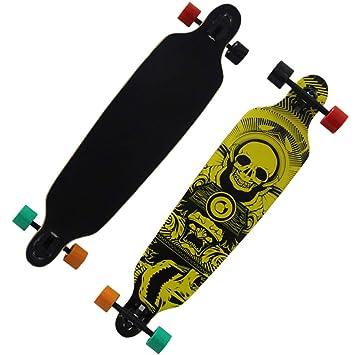 Skateboard, Skate de Cuatro Ruedas para Hombre y para Mujer de Baile de la Calle