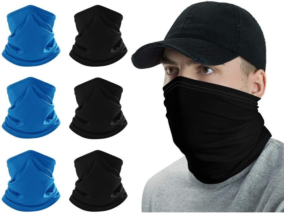 BEIARA Multi-Cool Neck Gaiter, Sun UV Face Protection Mask, Buff Headwear for Outdoor Sports, Cooling Headband for Men/Woman