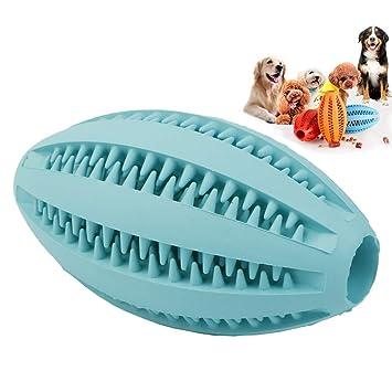 NTMY Perro Juguete Masticar Ball No tóxico Mordida Resistente Cepillo de Dientes Molar Clean Dientes Pet Cachorro Gato Comida para Perros Tratamiento ...