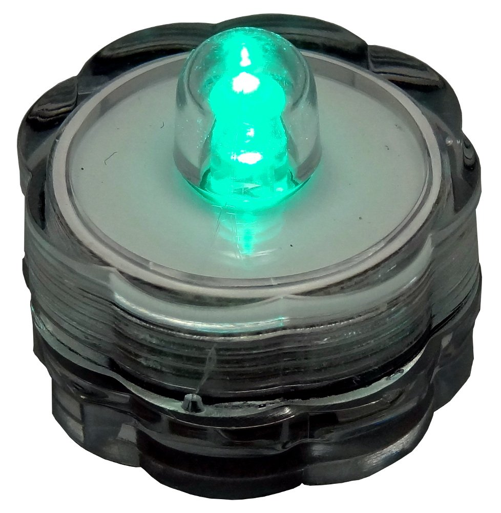 Bluedot Trading Submersible Tea Lights, Turquoise, 96-Pack