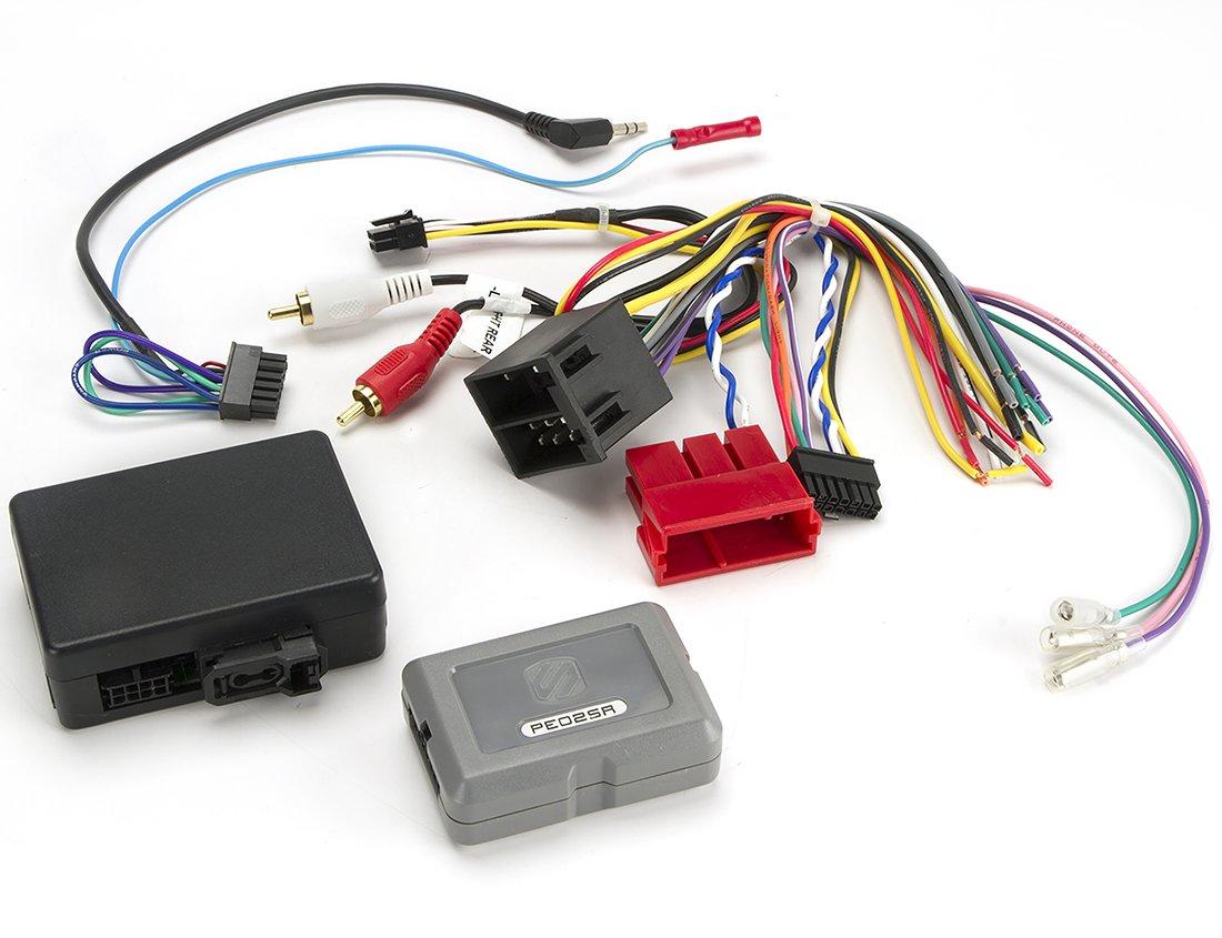 911 /& Boxer Fiber Optic Stereo Replacement Interface SCOSCHE PE02SR 2007-10 Porsche Cayenne