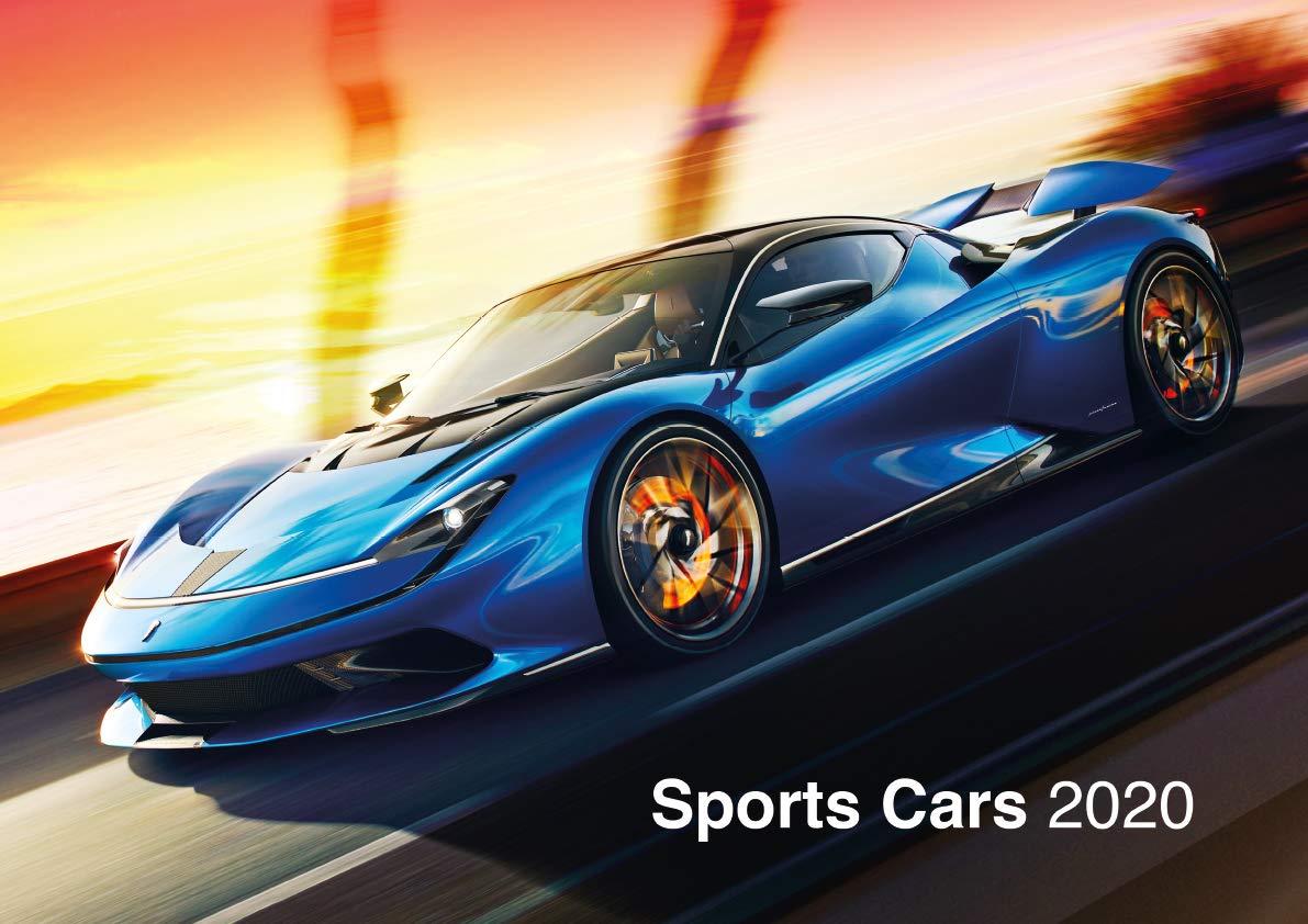 Sports Cars 2020 Calendar The Ultimate Car Calendar English German And French Edition 9781617017834 Amazon Com Books