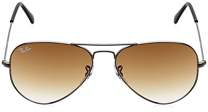 2435a6aa122 Ray-Ban Gradient Aviator Sunglasses (0RB3025I004 5155)  Amazon.in  Clothing    Accessories