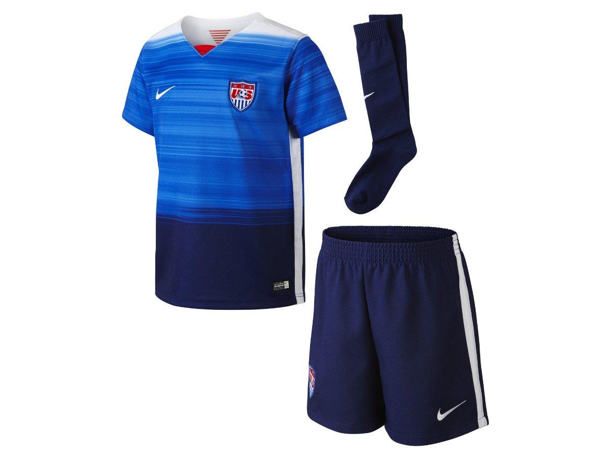 3018bfcb7c7d Amazon.com   Nike USA Kit (GAME ROYAL LOYAL BLUE) (S)   Sports   Outdoors