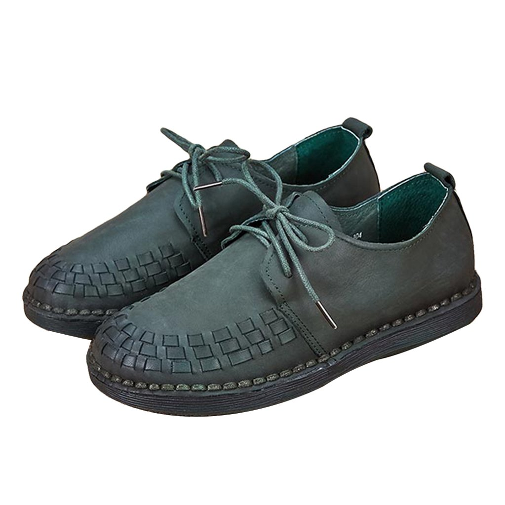 Amazon.com: GilesJones Oxford Flats Shoes Women,Casual British Lace up Moccasins Loafers Shoes: Sports & Outdoors