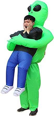 Seasonblow Fancy Adult Inflatable Dinosaur Unicorn Cowboy Halloween Cosplay Fantasy Costume