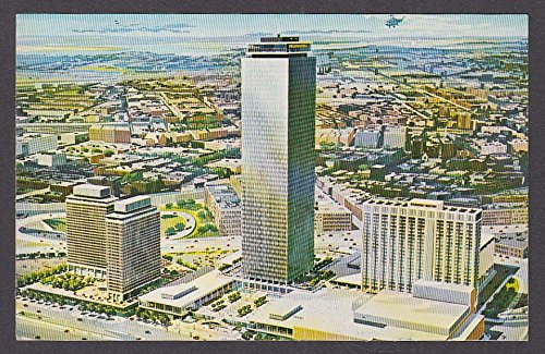 Prudential Center Sheraton-Boston Hotel Boston MA postcard - Prudential Ma