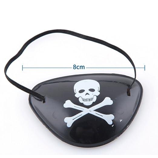 Amazon.com: BOMBOM Árbol Paquete De 12 pirata Parches de ojo ...