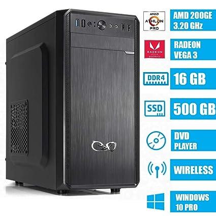 CeO Alpha V4 - Ordenador de Sombremesa AMD 200GE 3.20GHz 4MB ...