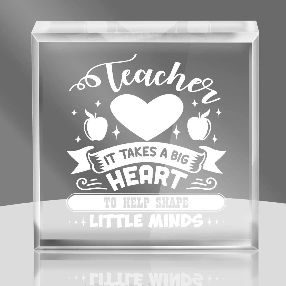 Hohomark Thanksgiving Gifts for Teachers Keepsakes and Paperweight Appreciation Gifts for Teachers from Graduation Grad, Teacher Gifts Appreciation for Thank You Teachers Day