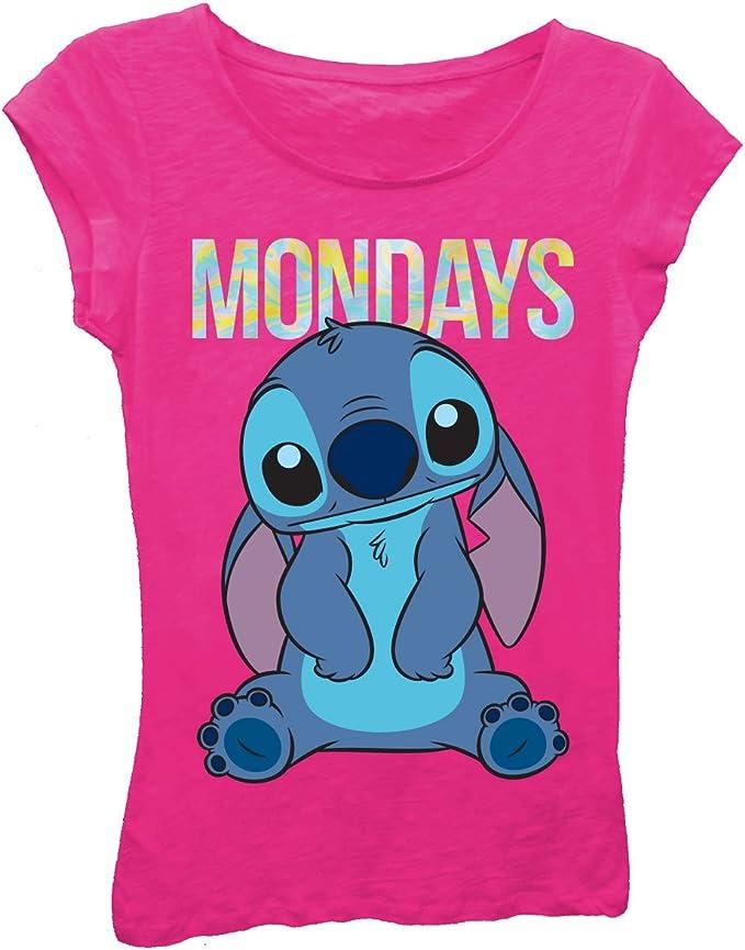 Disney Girls Lilo and Stitch Chillin T-Shirt
