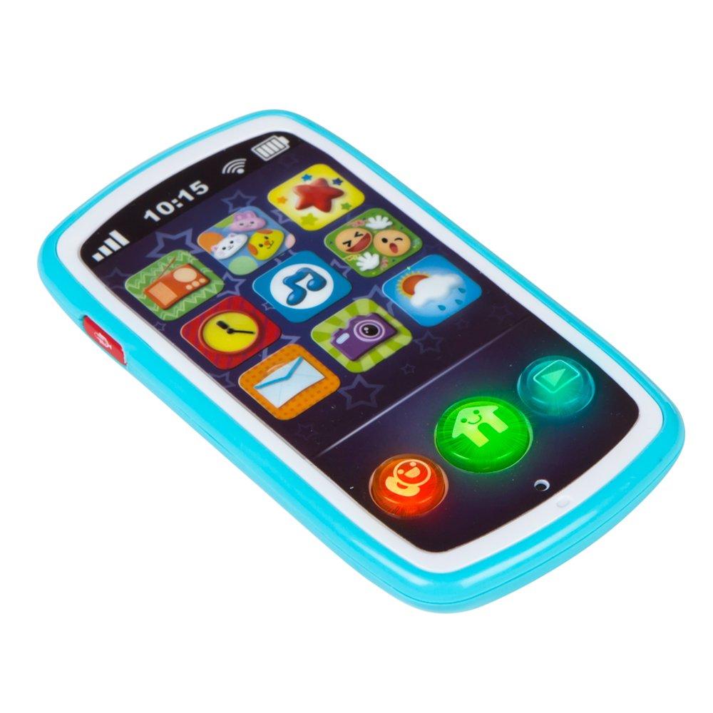 Winfun Teléfono móvil musical para bebés ColorBaby