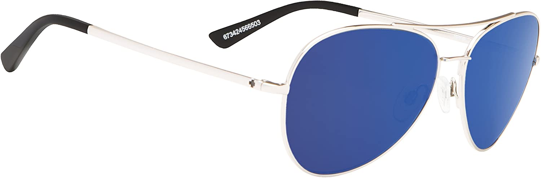 Spy Atlas Polarized Sunglasses-Soft Matte Black-Gray Green  Unisex