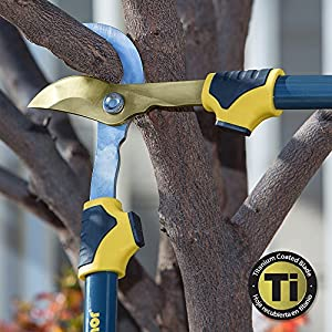 "Melnor 27"" Bypass Loppers with Titanium Coated Blade; Cuts 1.5"" Branches"