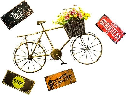 Bicicleta Retro Bicicleta decoración de la Pared Cafetería ...