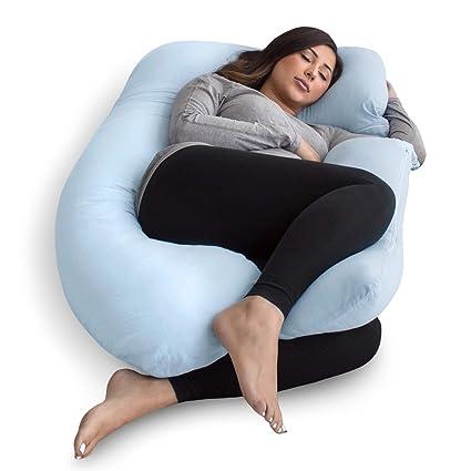 Amazon Com Pharmedoc Pregnancy Pillow U Shape Full Body Pillow And
