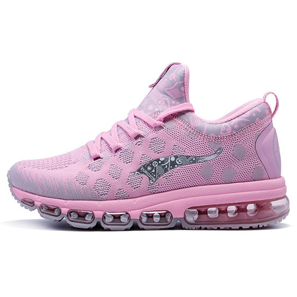 ONEMIX Women's Air Cushion Lightweight Walking Running Shoes B06Y1S8DVT Men 3.0(M)US 35EU/Women 5.0(M)US 35EU|Pink